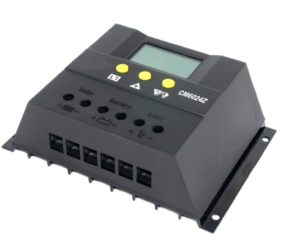 60A Battery Charge Controller 12V/24V LCD Regulator